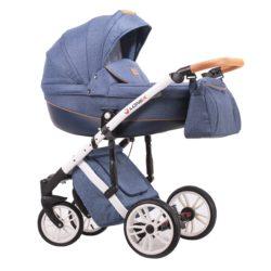 Детская коляска LONEX COMFORT PRESTIGE 2 В 1 (джинсовый)