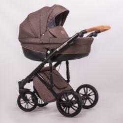 Детская коляска LONEX COMFORT PRESTIGE 3 В 1 (коричневый)