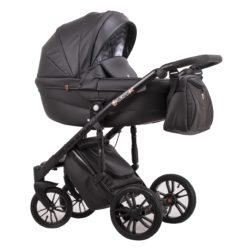 Детская коляска LONEX COMFORT SPECIAL 3 В 1 (Черный)