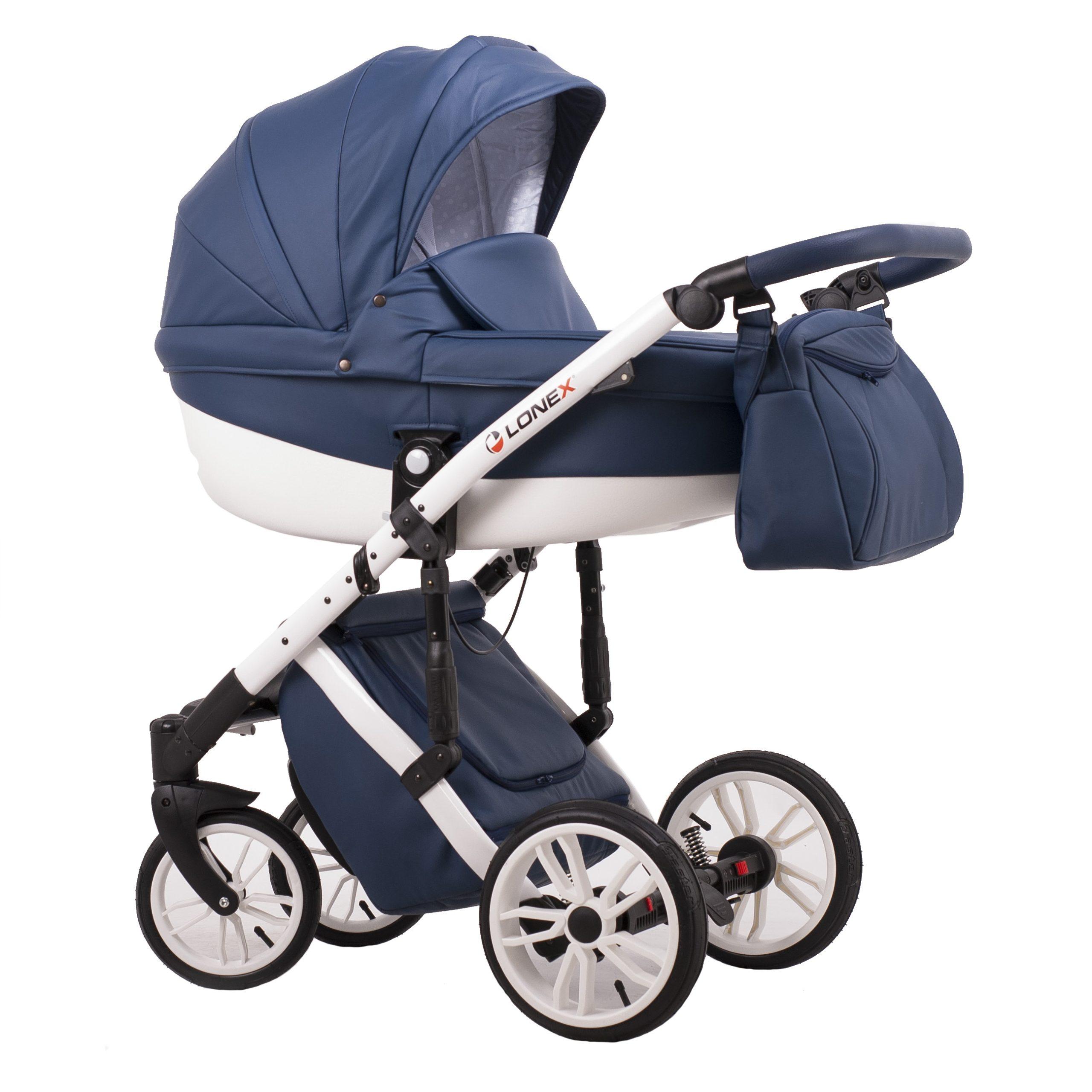 Детская коляска LONEX COMFORT SPECIAL 3 В 1 (голубой)