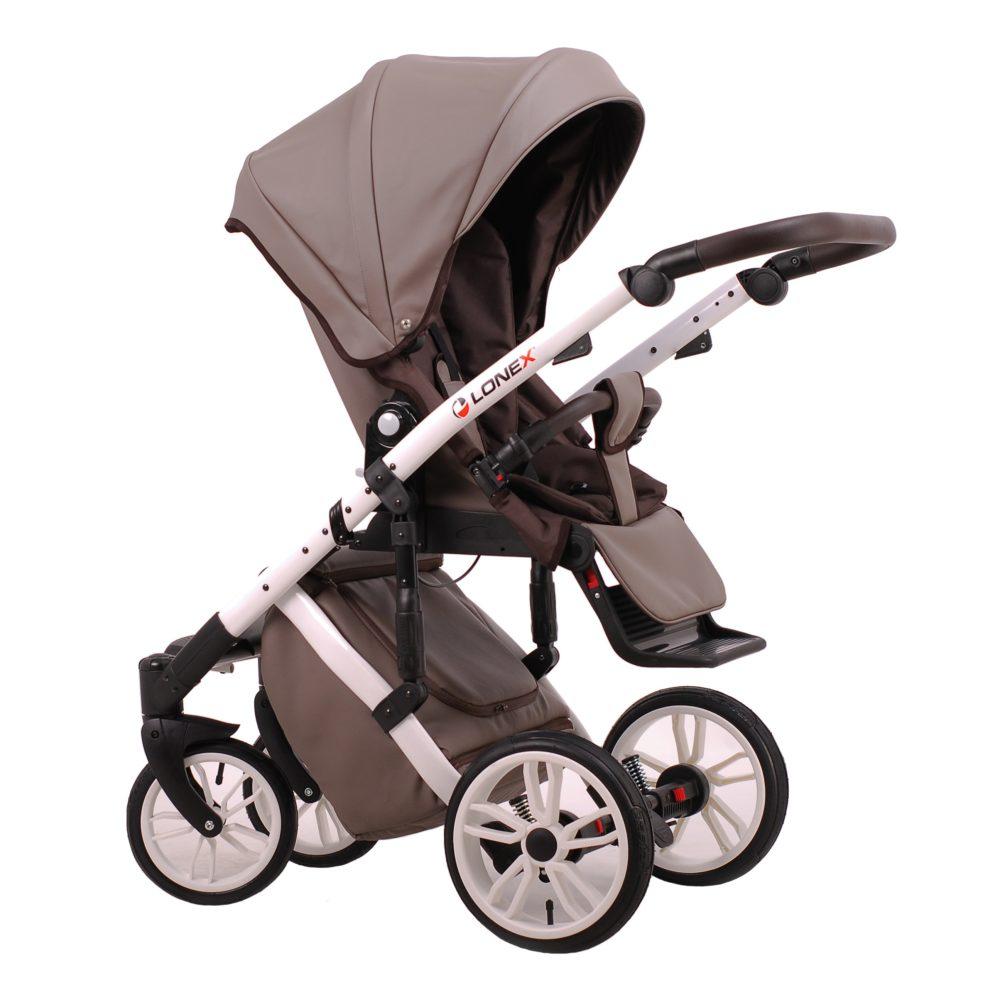 Детская коляска LONEX COMFORT SPECIAL 2 В 1 (коричневый)