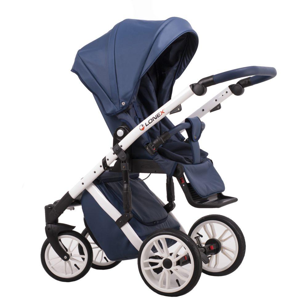 Детская коляска LONEX COMFORT SPECIAL 2 В 1 (голубой)