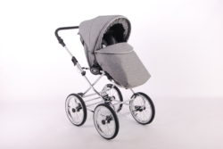 Детская коляска LONEX CLASSIC ELEGANTO LEN 3 В 1 (серый)