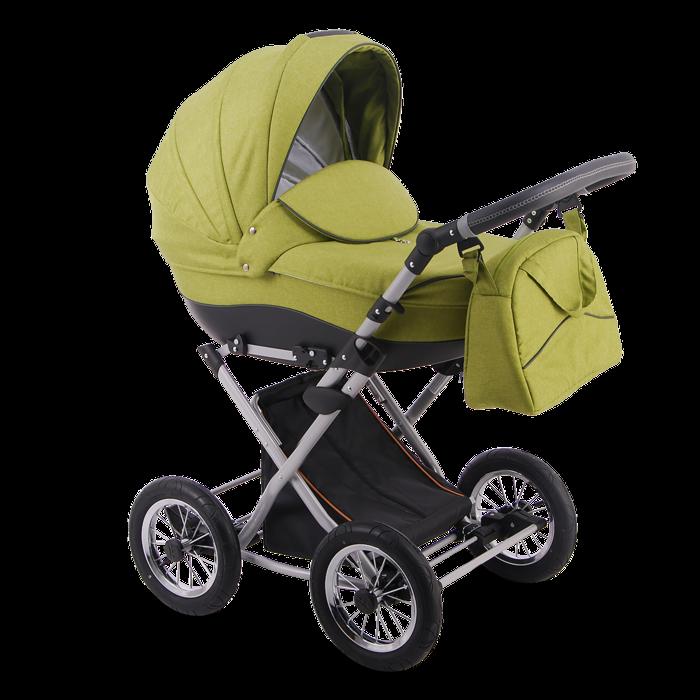 Детская коляска LONEX PARRILLA 3 В 1 (зеленый)