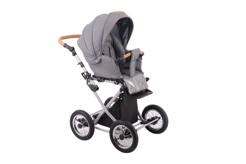 Детская коляска LONEX PARRILLA 2 В 1 (темно-серый)