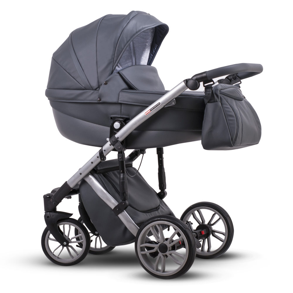 Детская коляска LONEX COMFORT SPECIAL 2 В 1 (серый)