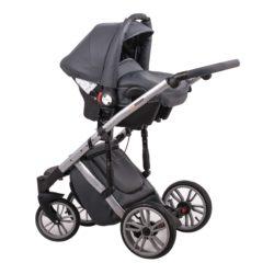 Детская коляска LONEX COMFORT SPECIAL 3 В 1 (серый)