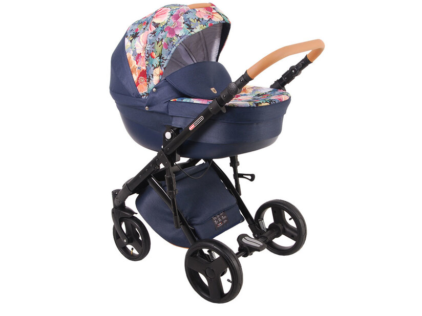 Детская коляска LONEX COMFORT CARRELLO 3 В 1 (Синий)