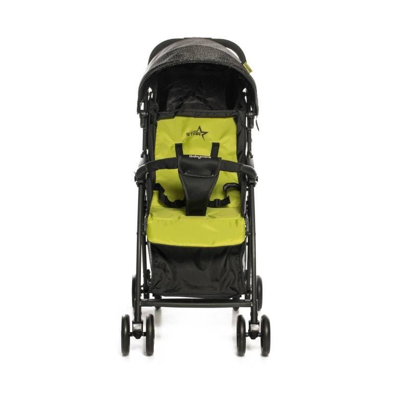 Прогулочная коляска Baby Care Star (желтый)