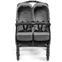 Прогулочная коляска для двойни Peg-Perego Book For Two Classico (Серый)