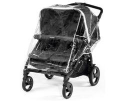 Прогулочная коляска для двойни Peg-Perego Book For Two Classico (Черный)