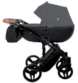 Детская коляска Junama Madena 2 в 1 (темно-серый)