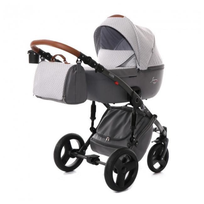Детская коляска Junama Madena 2 в 1 (серый)