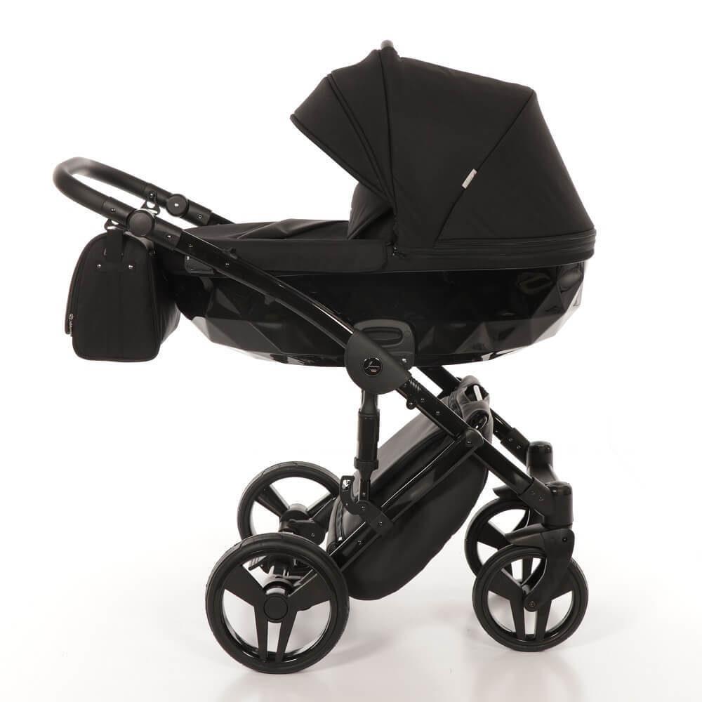 Детская коляска Junama Diamond 2 в 1 (черный)