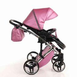 Детская коляска Junama Diamond 2 в 1 (розовый)