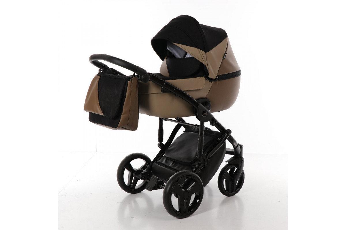 Детская коляска Junama Diamond 2 в 1 (коричневый)