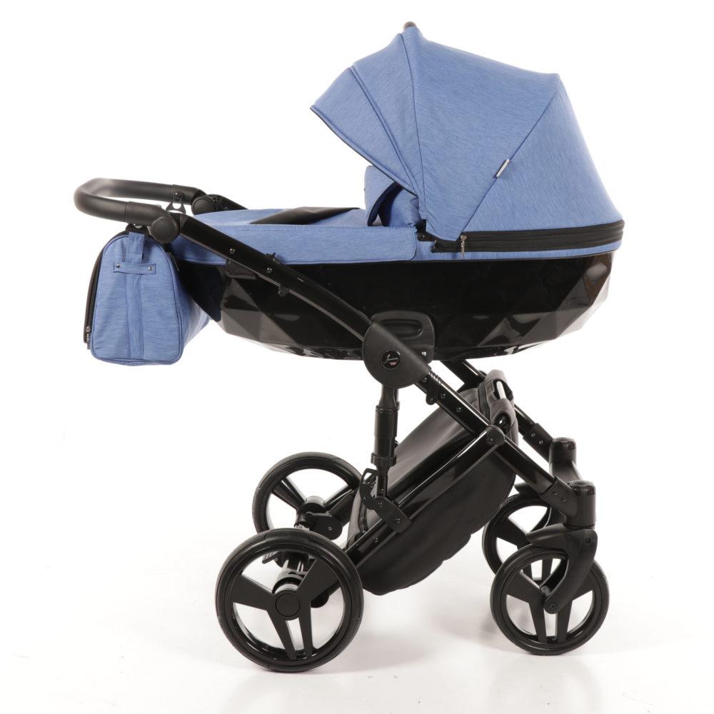 Детская коляска Junama Diamond 2 в 1 (голубой)