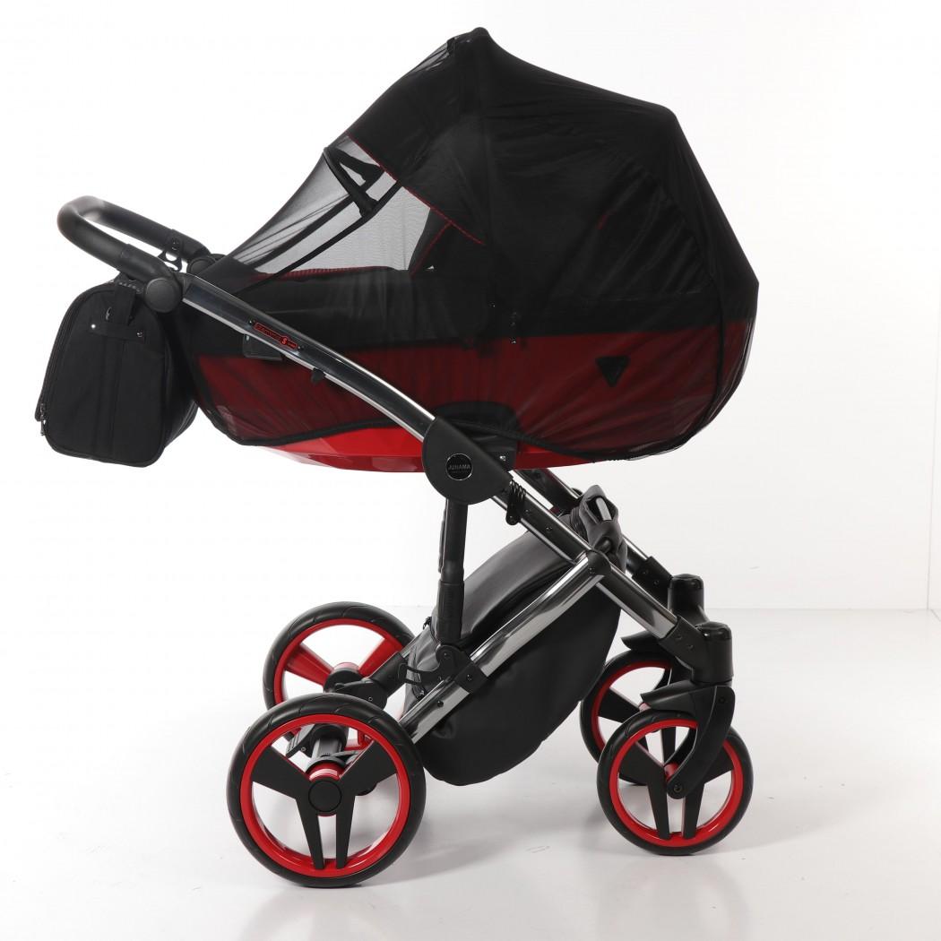 Детская коляска Junama Diamond Special 2 в 1 (черный/красный)