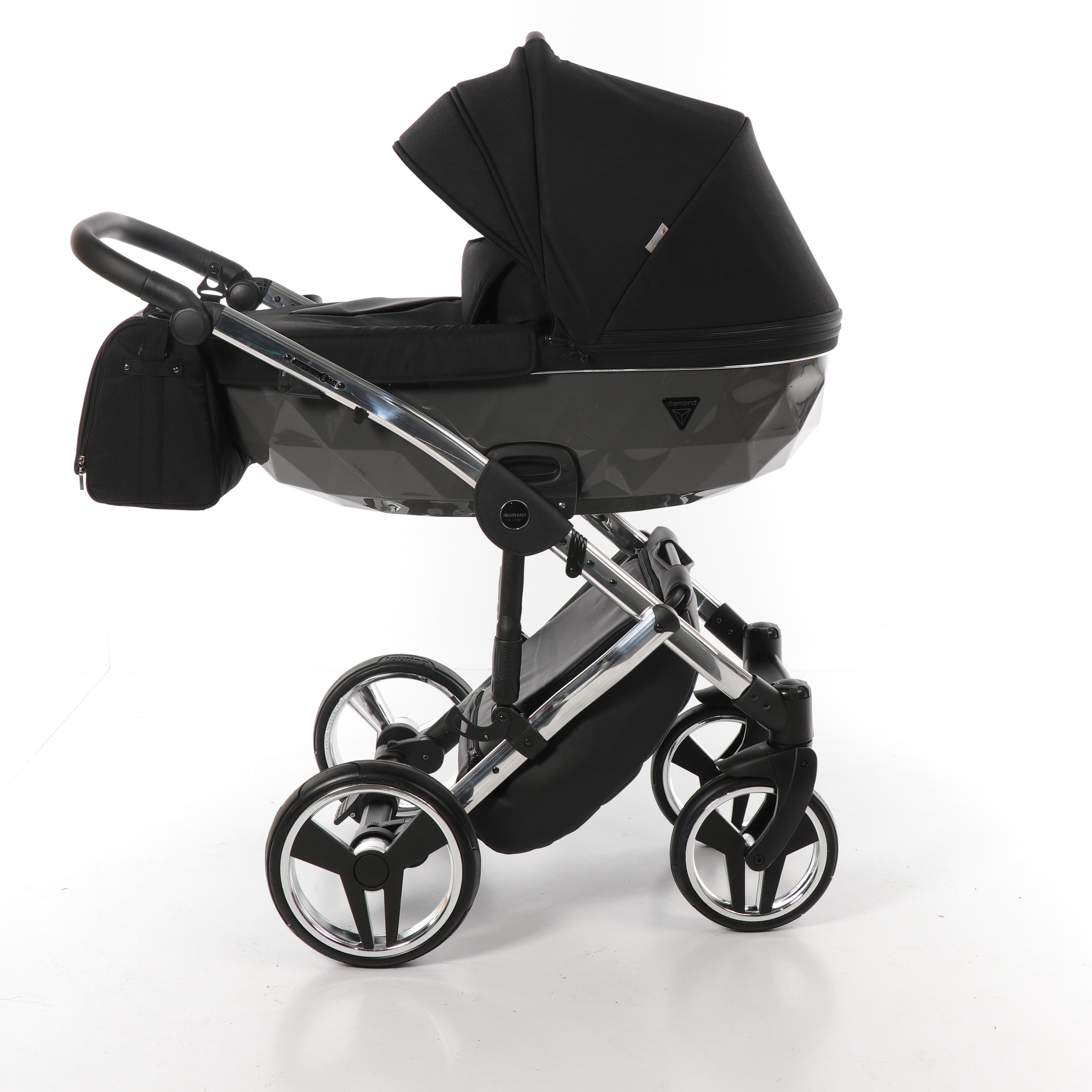 Детская коляска Junama Diamond Special 2 в 1 (черный)