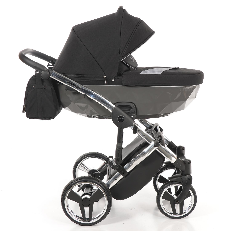 Детская коляска Junama Diamond Special 3 в 1 (черный)