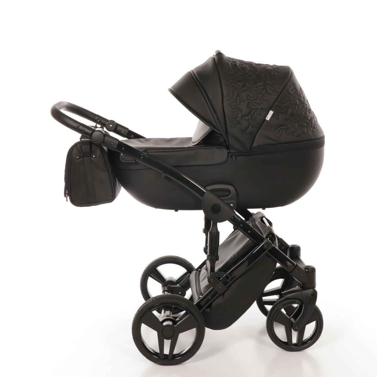 Детская коляска Junama Enzo 3 в 1 (черный)