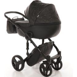 Детская коляска Junama Enzo 2 в 1 (черный)