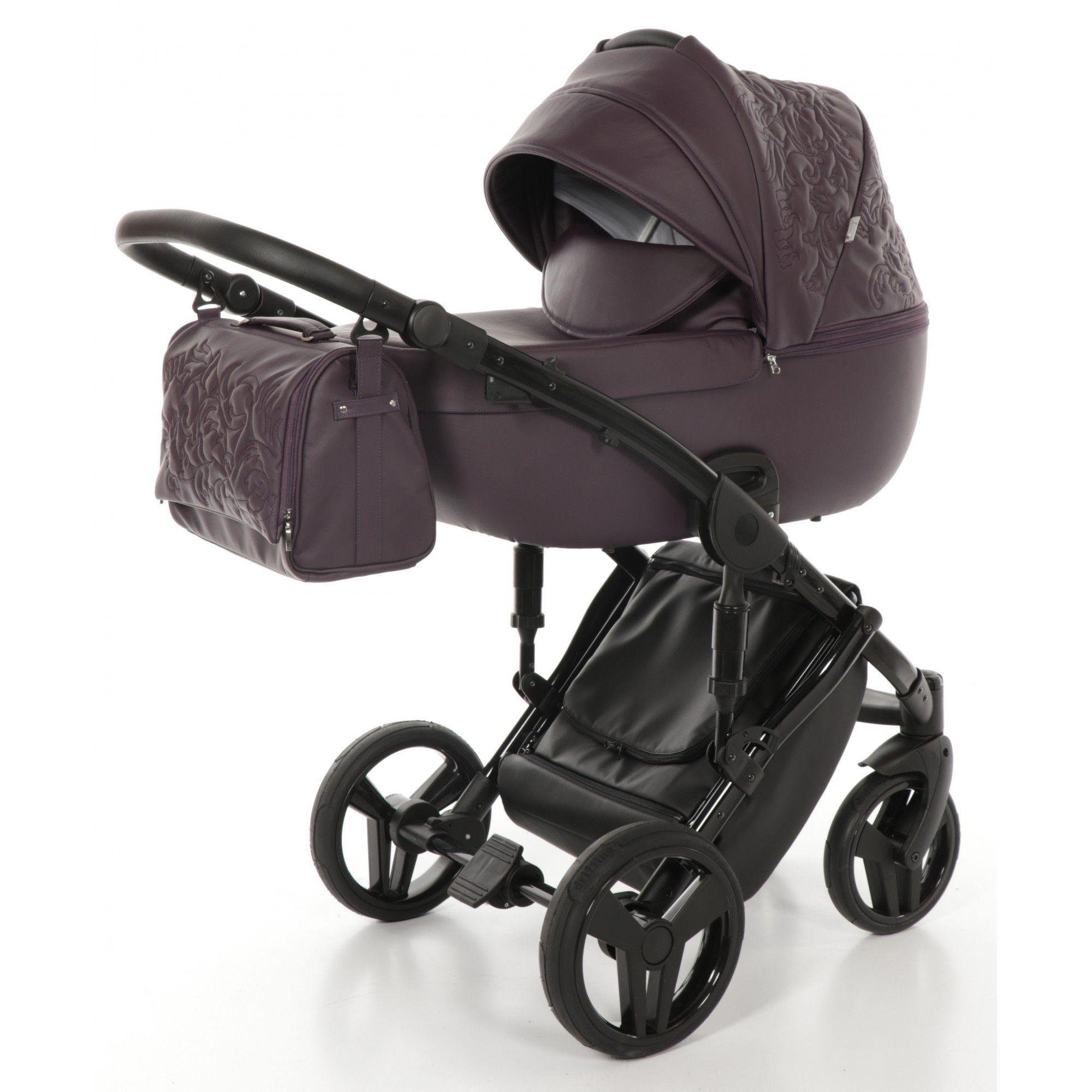 Детская коляска Junama Enzo 2 в 1 (коричневый)