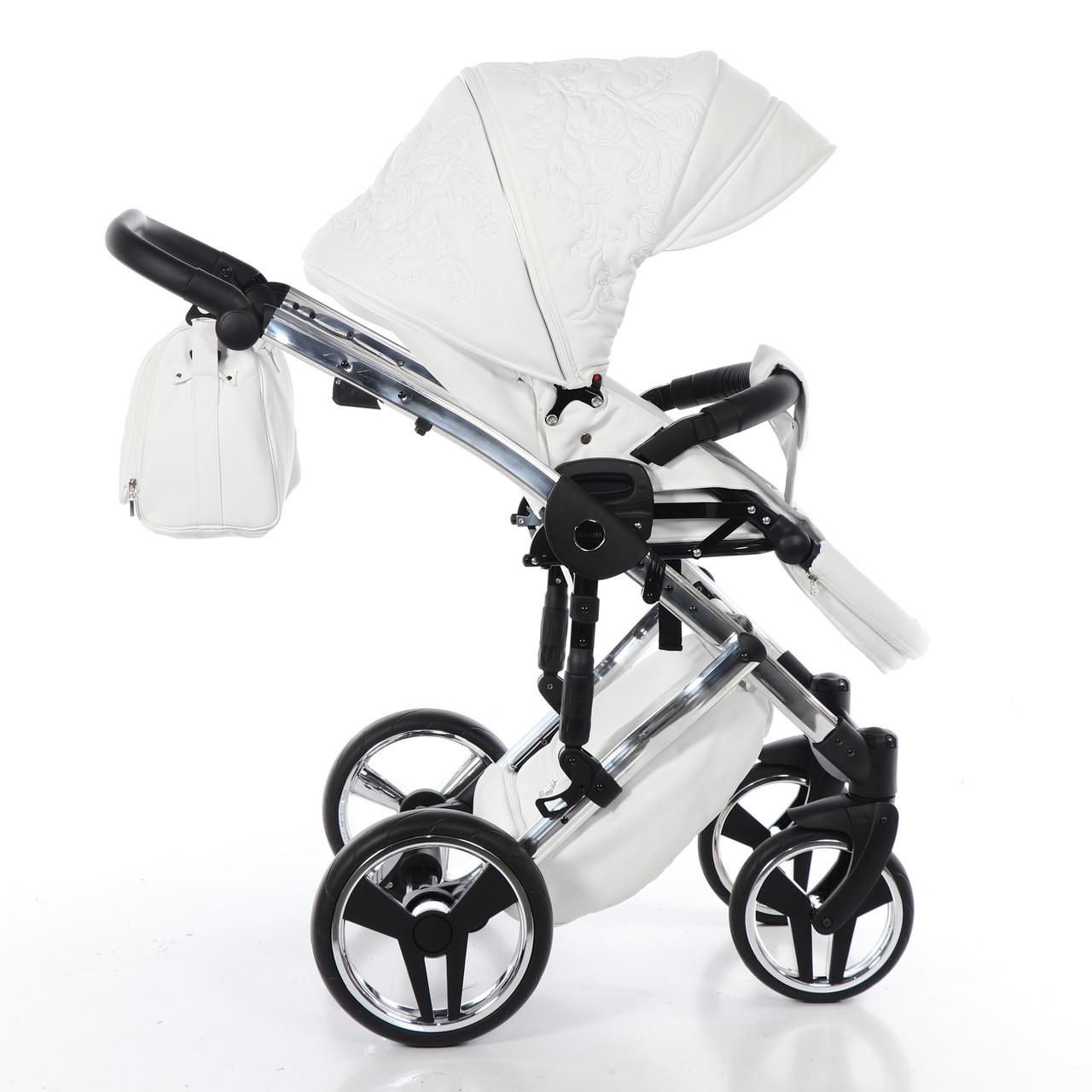 Детская коляска Junama Enzo 2 в 1 (белый)