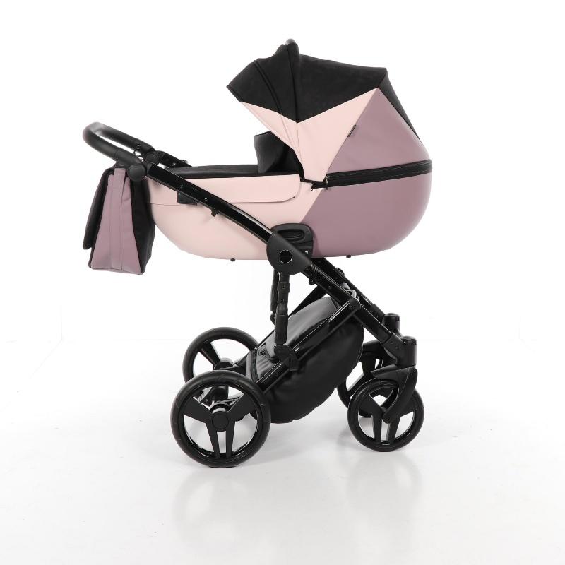 Детская коляска Junama City Geographic 2 в 1 (розовый)