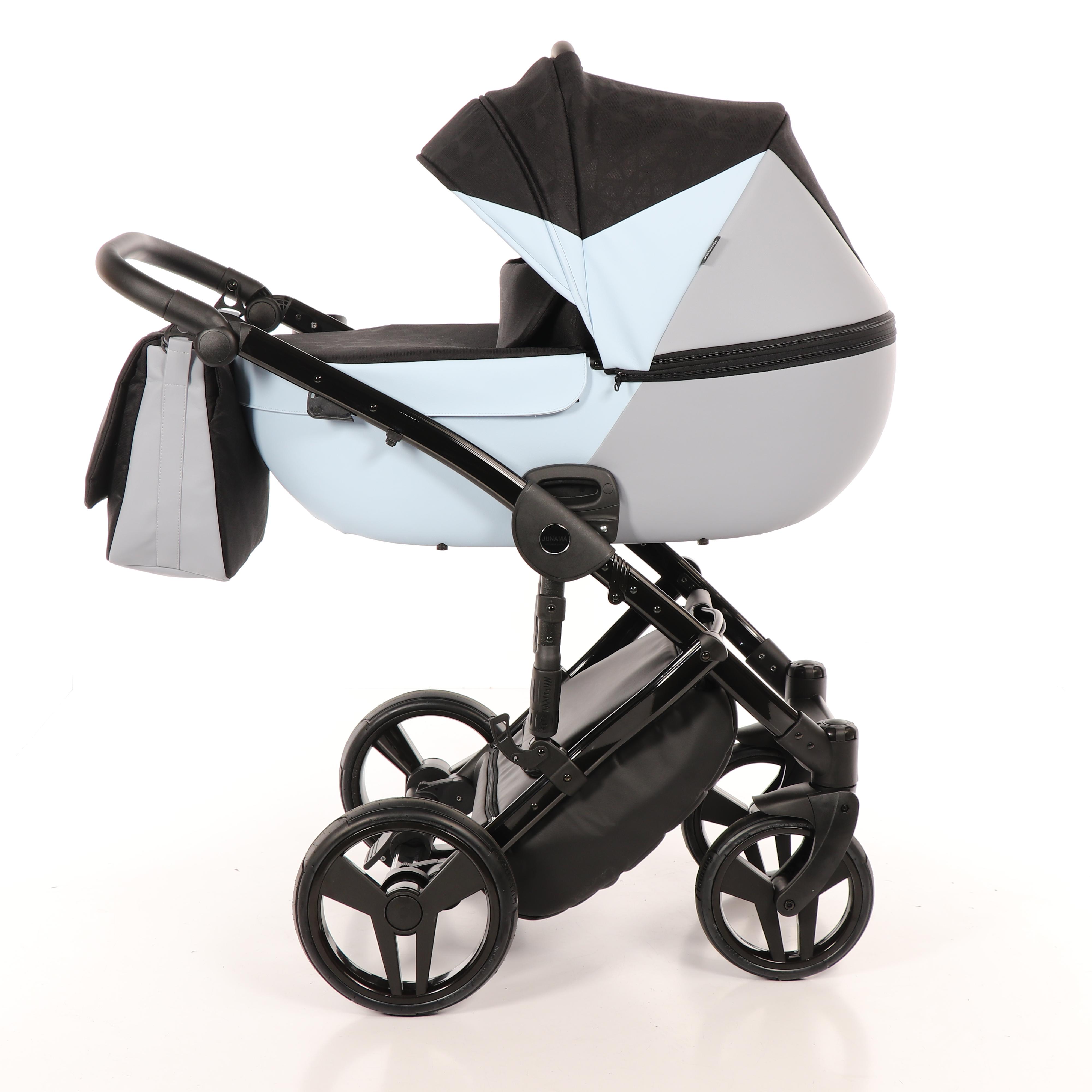 Детская коляска Junama City Geographic 3 в 1 (серый)