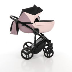 Детская коляска Junama City Geographic 3 в 1 (розовый)