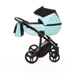Детская коляска Junama City Geographic 3 в 1 (голубой)