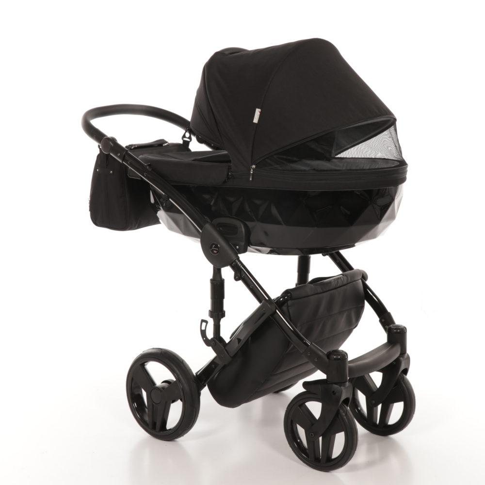 Детская коляска Junama Diamond 3 в 1 (черный)