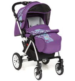Детская коляска Capella S-803WF Сибирь (фиолетовый)