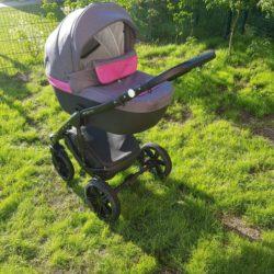 Детская коляска Expander Enduro 2в1 (серо-розовый)