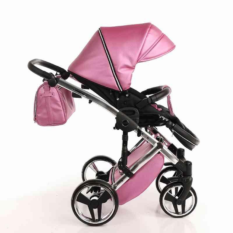 Детская коляска Junama Diamond 3 в 1 (розовый)