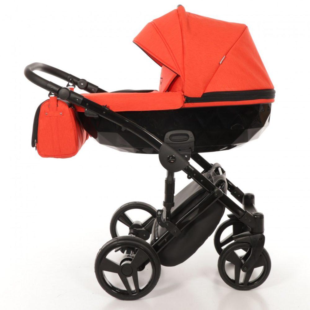 Детская коляска Junama Diamond 3 в 1 (красный)