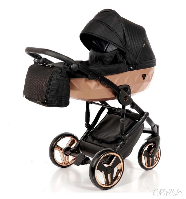 Детская коляска Junama Diamond 3 в 1 (коричневый)