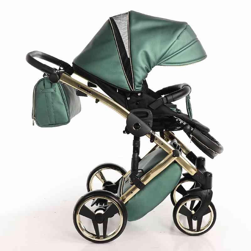Детская коляска Junama Diamond 3 в 1 (зеленый)