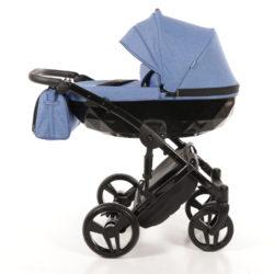 Детская коляска Junama Diamond 3 в 1 (голубой)