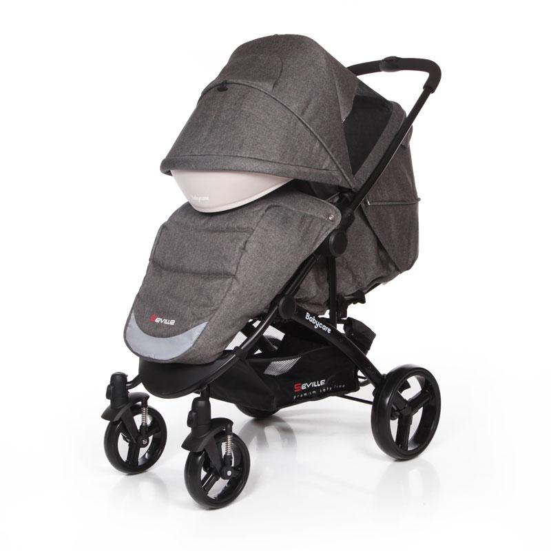 Прогулочная коляска Baby Care Seville (Серый/белый)