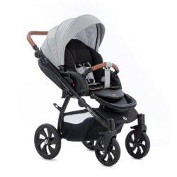 Детская коляска Tutis Aero 2 в 1 (черный/светло-серый)