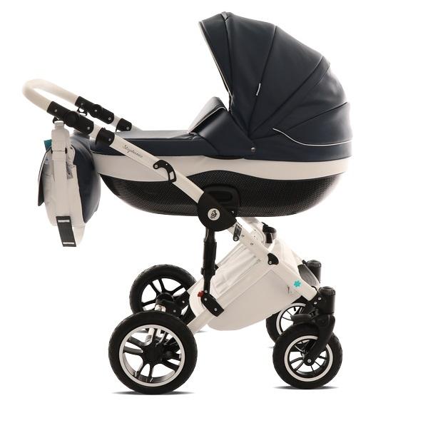 Детская коляска Noordline Stephania 2 в 1 (черно-белый)