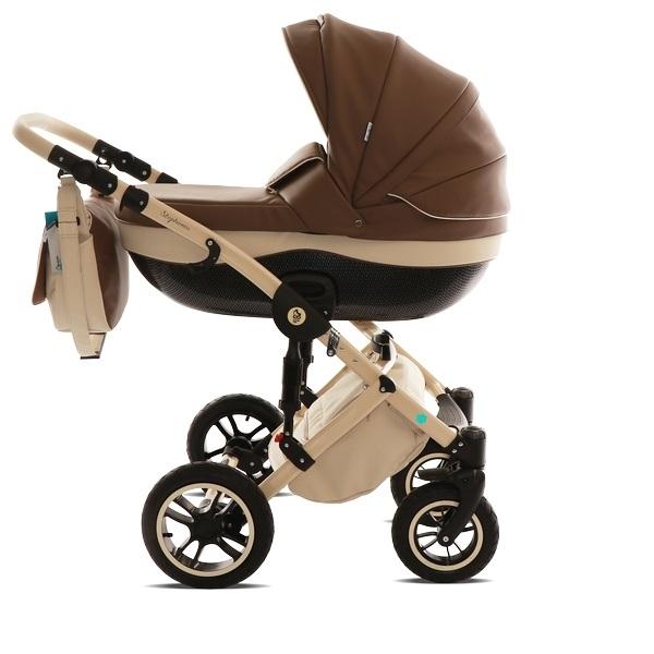 Детская коляска Noordline Stephania 2 в 1 (коричневый)