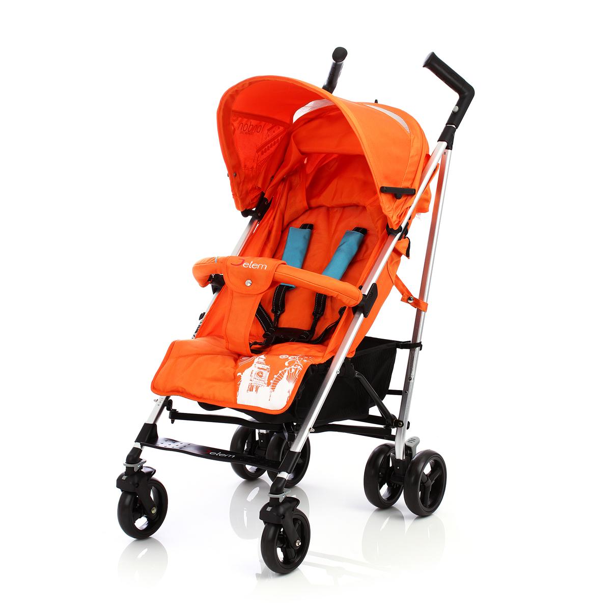 Детская коляска-трость Jetem London (оранжевый)