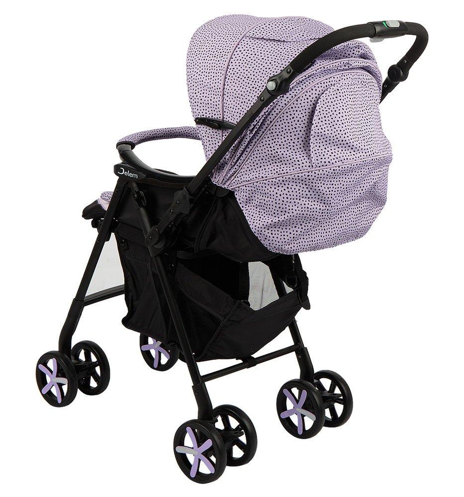 Прогулочная коляска Jetem Graphite, с рождения (Фиолетовый)