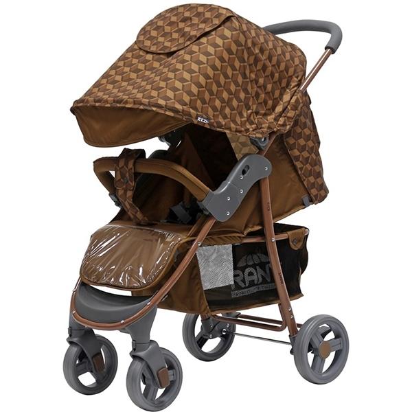 Прогулочная коляска Rant Kira, 2017 (коричневый)