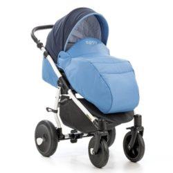 Детская коляска Tutis Orbit 3 в 1 (голубой)