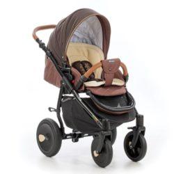 Детская коляска Tutis Orbit 3 в 1 (коричневый)