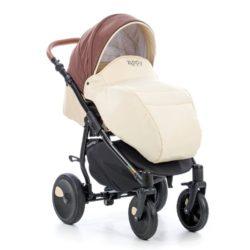 Детская коляска Tutis Orbit 3 в 1 (кремовый/коричневый)
